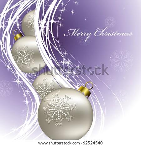 Christmas Background. Illustration. eps10. - stock vector