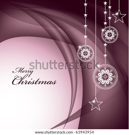 Christmas Background. Illustration. eps10. - stock vector