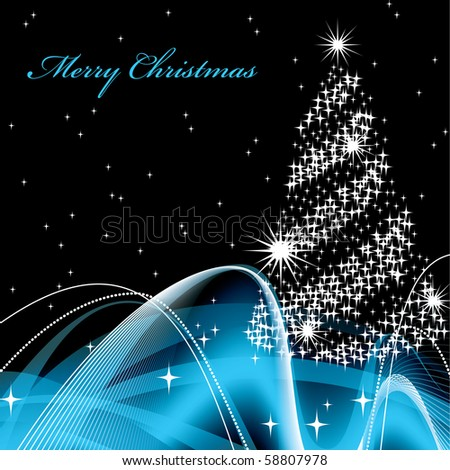 Christmas Background in eps10 - stock vector