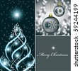 Christmas Background in eps10 format. Abstract Illustration. - stock photo