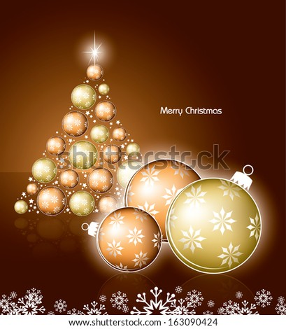 Christmas Background. Modern Design.