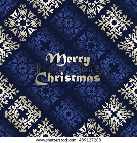 Christmas background. Retro pattern. Can be used for decoration cards or invitation
