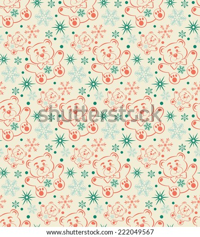 Christmas background seamless
