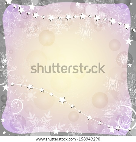 Christmas background - vector  - stock vector