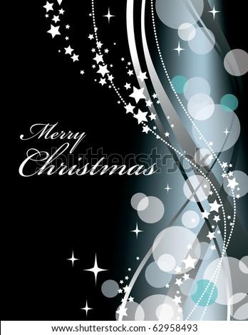 Christmas Background. Vector. - stock vector