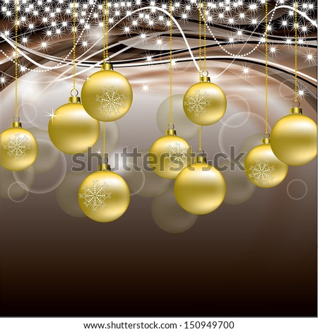 Christmas Background. Vector Design. - stock vector