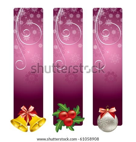 Christmas Background. Vector. eps10. - stock vector