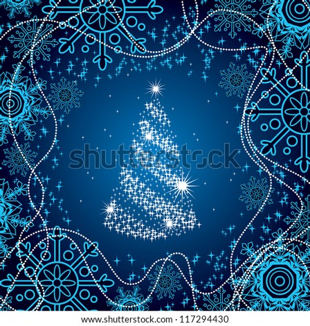 Christmas Background. Vector Eps10 Format.