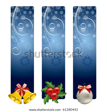 Christmas Background. Vector. eps10 format. - stock vector