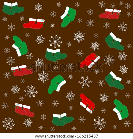 Christmas background/ Vector illustration