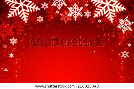 Christmas background. Vector illustration  - stock vector