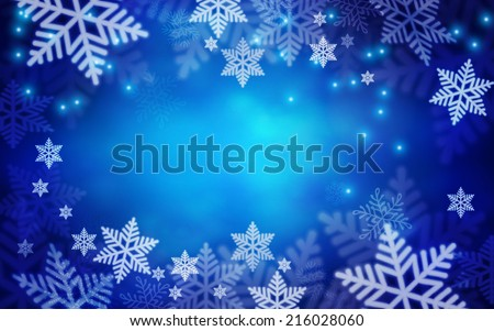 Christmas background. Vector illustration  - stock vector