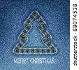 Christmas background.Vector illustration. Eps10 - stock vector