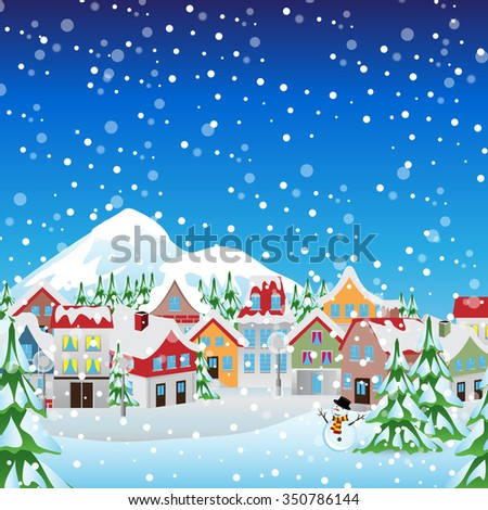 Christmas Background - Vector illustration, Graphic Design, Editable For Your Design - stock vector
