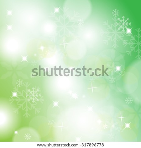 Christmas Background - Vector Illustration, Graphic Design Useful For Your Design - stock vector