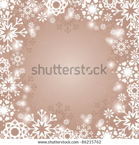 Christmas Background. Vector Illustration in Eps10.