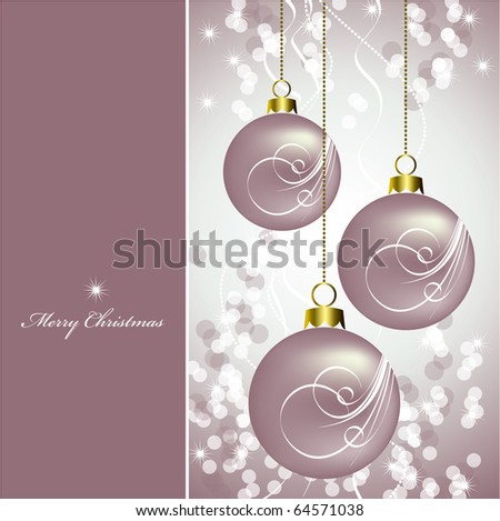 Christmas Background. Vector Illustration in eps10 format.