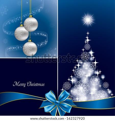 Christmas Background. Vector Illustration. Modern Design. - stock vector