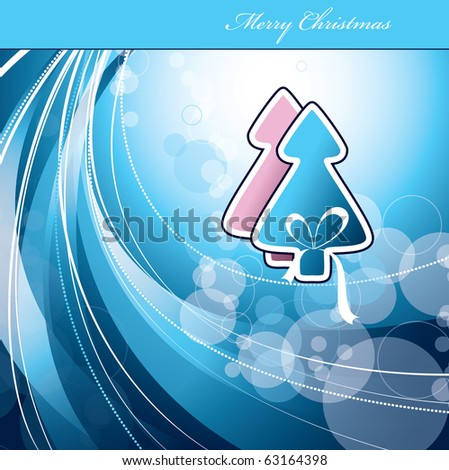 Christmas Background. Vector in eps10. - stock vector