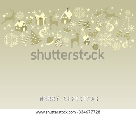 christmas background, vintage and grunge design for celebration greeting card, backdrop, web page design, vector illustration.
