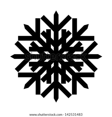Retro Snowflake Stock Images, Royalty-Free Images ... Christmas Snowflake Silhouette