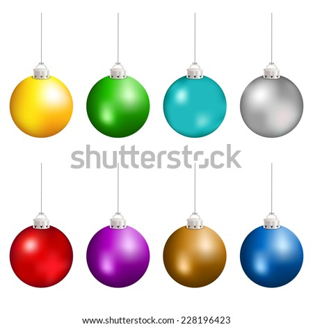 Christmas Balls Hanging Stock Images, Royalty-Free Images ...
