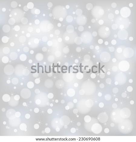 Christmas bokeh background  - stock vector