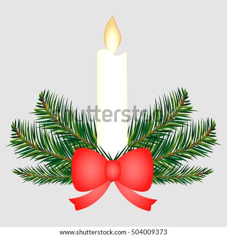 Christmas Candles Stock Images, Royalty-Free Images & Vectors ...