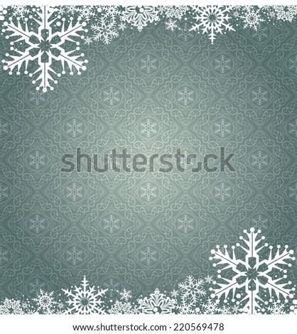 Christmas Card pattern for Your Design