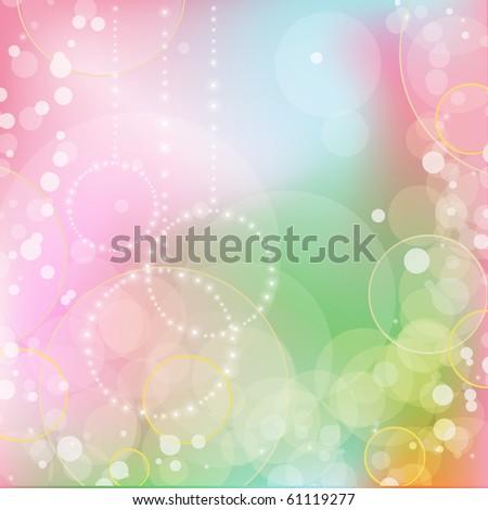 Christmas card. vector - stock vector