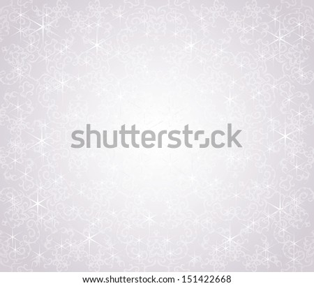 Christmas card. Winter design.  Seamless background - stock vector