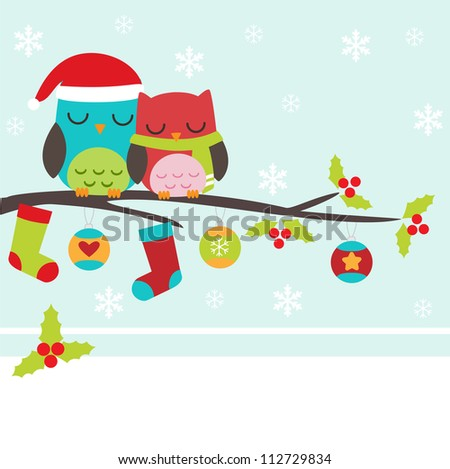 Christmas Owl Stock Images, Royalty-Free Images & Vectors ...