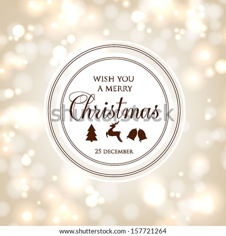 Christmas cards vintage set of retro Xmas banners design. Holiday vector collection. - stock vector