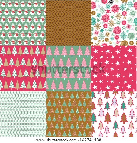 Christmas Collection - stock vector