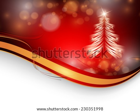Christmas colorful vector background with copy space. Eps10 - stock vector