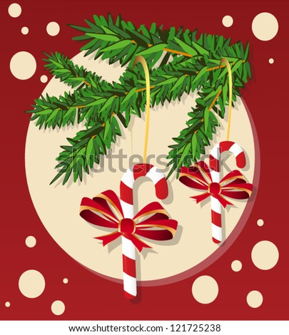 Christmas Decoration - stock vector