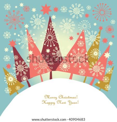 christmas decoration - stock vector