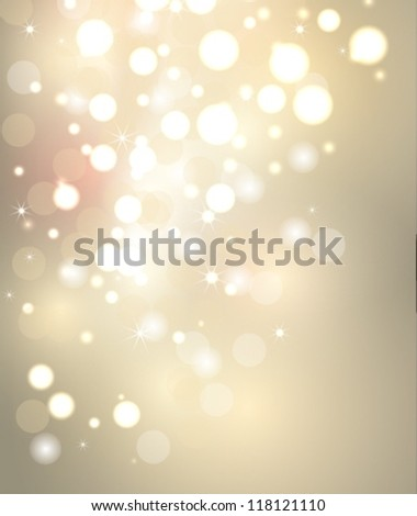 Christmas decoration background - stock vector