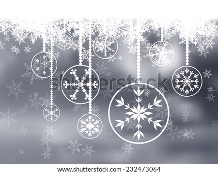 Christmas Decorations - stock vector