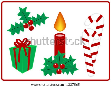 Christmas Design Elements - Vector