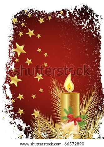 christmas design - vector - stock vector