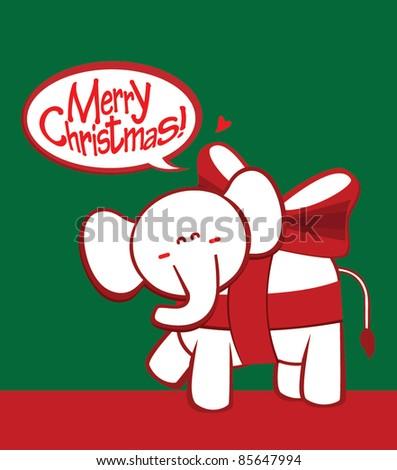 White Elephant Gift Exchange Logo White Elephant Stock P...