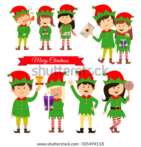 Christmas Elf Stock Images, Royalty-Free Images & Vectors ...
