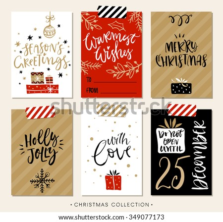 Christmas card stock images royalty free images vectors for Modern christmas card ideas