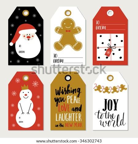 christmas gift tag template