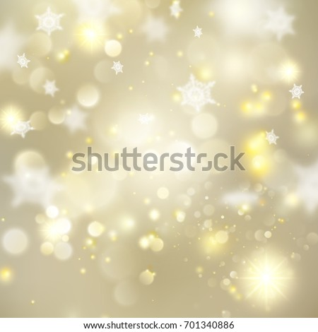 christmas glowing golden template holiday lights gold new year abstract glitter defocused background with - R2d2 Christmas Lights