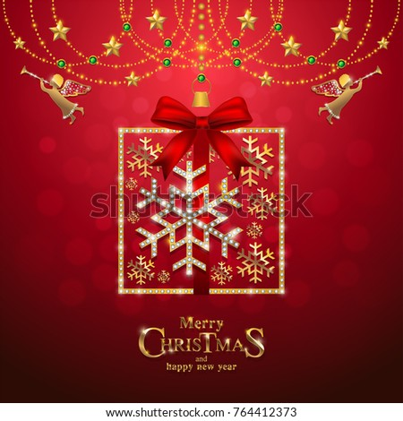 Christmas greeting new years card templates stock vector 764412373 christmas greeting and new years card templates with gold patterned and crystals on background color m4hsunfo
