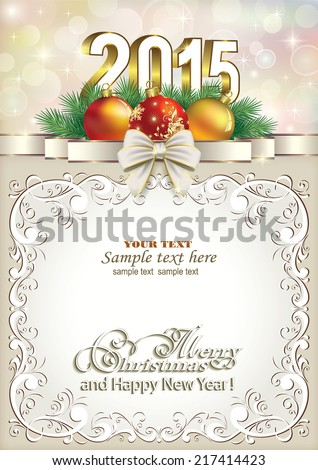 Christmas Card Template Stock Photos, Royalty Free Images .