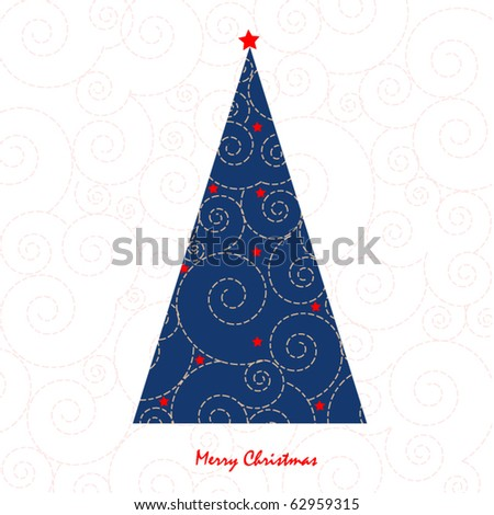 christmas greeting designs - stock vector