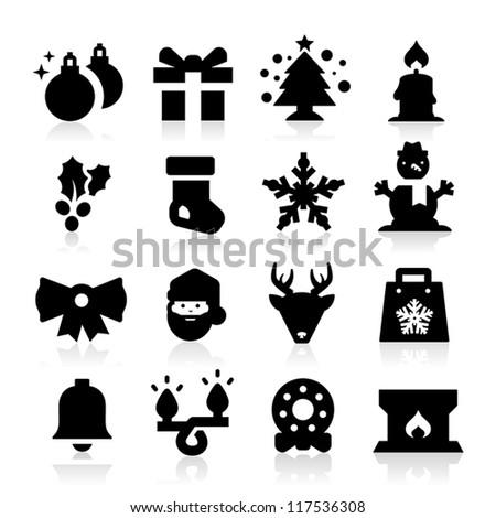 Christmas icon - stock vector